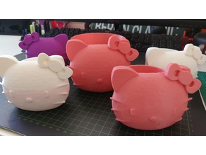 Hello Kitty Planter - now small and medium size!