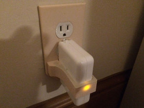 airport express wall plate lock
