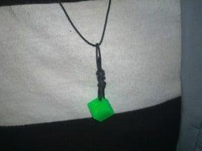3D cube - Pendant