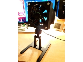 120mm Desktop adjustable fan