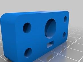 Simple 10mm rod holder