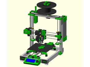 GREEN MAMBA V1.3 DIY 3D Printer