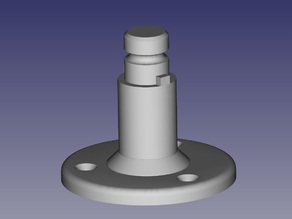 Base for Quick Release Mic Mount