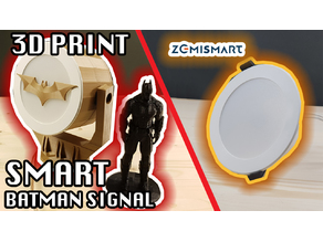 Batman Signal or BatSignal for Downlight