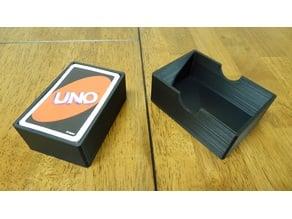 Uno Card Game Box