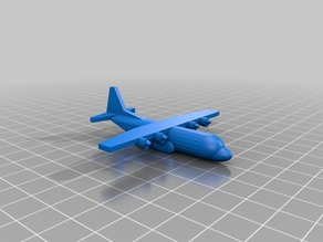 Miniature C-130-K