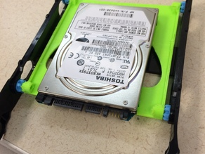 2.5'' to 3.5'' ssd hard drive adapter for HP guide rails.