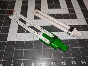 LED Desk Lamp Conversion from 13 Watt Fluorescent Bulb