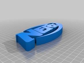 Extruded NERF logo