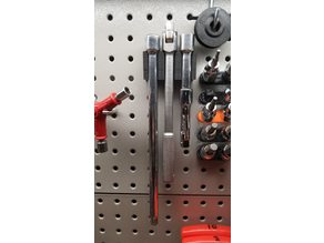 Pegboard Socket Extension Holder
