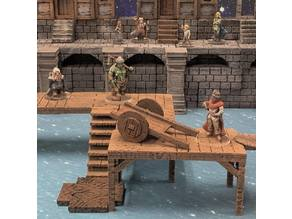 Delving Decor: Shoddy Cart (28mm/32mm scale)