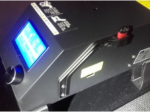 CR-10 Support adapteur USB et protection port SD