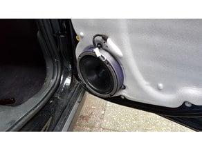 Fiat Panda 169 rear door 6.5 inch speaker ring