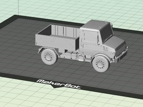 NIce Unimog 1300 L -  PickUp Truck