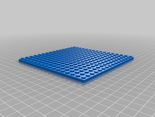 16x16 Lego Compatible Plate