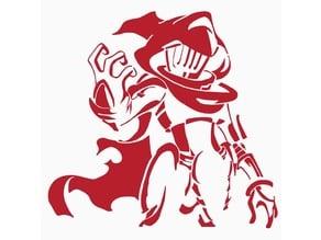Spectre Knight stencil