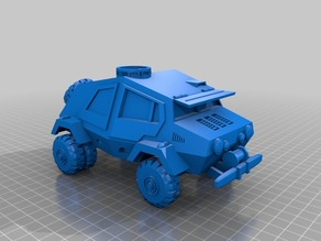 SpzKfz 10 Landgaenger Ausf. A for the Heavy MetalGods Role Playing Game