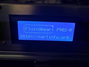 Flyingbear-P902 firmware RC8