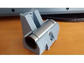 Single LM12UU / LM12LUU bearing holders for HyperCube Evolution
