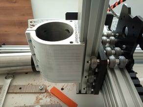 CNC 80mm spindle holder on c-beam