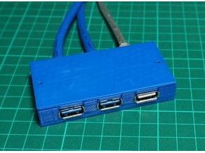 3 USB Clips
