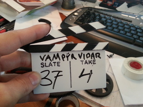 One Handed Mini-Clapper / Slate