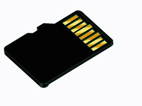 MicroSD Card Dummy (Don't Print!)