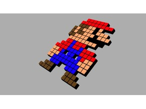 Super Mario Pixeled
