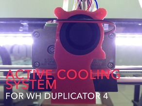 Duplicator 4 Active Cooling (40mm x 20mm Blower)