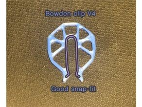 Bowden clip