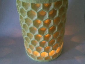 Honeycomb Tea Lamp Shade