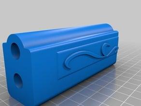 Mami Tomoe Rifle (Partially sliced for smaller printer)