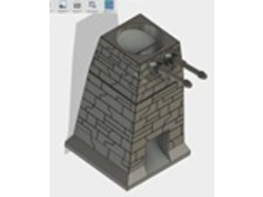 Deathstar Turret Dice Tower