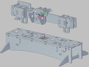 Parametric Printrbot Parts CAD STEP IGES