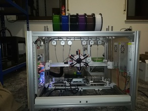 Sixti - A Six Color 3D Printer