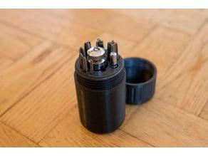Thread taps & holder holder
