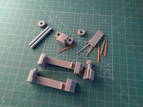 Vise with Metal Support and smaller M12 nut