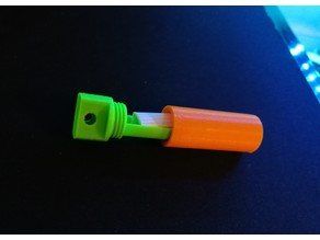 Micro Geocache pendant