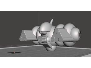 Robotech Masters Security GUN Drone