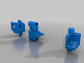 Flsun i3 x/z axis 70 mm redesign