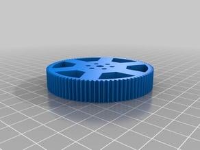 90t gear to mount mecanum wheel to Rev Robotics gear chain