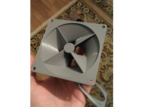 PC Fan Enclosure Exhaust Adapter for temperature control