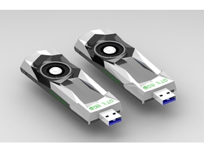 Pendrive Case - NVIDIA Geforce Founder Edition
