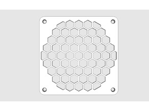 120 mm Hexagonal Fan Grill