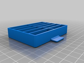 Drawer box with ten #2 compartments