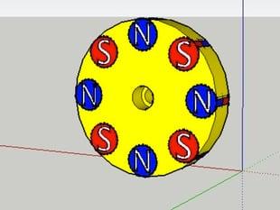 Magnetic Coupler Drive / Driven magnet holder