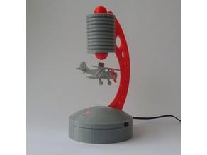 Levitating biplane for Levitator