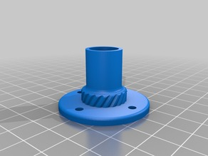 Threaded Filament Dust Filter for Enclosures