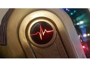 Daft Punk Guy Manuel EKG ear cup insert
