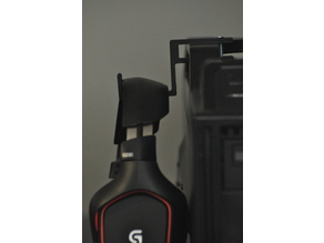 Headset hook for Storm Scout case